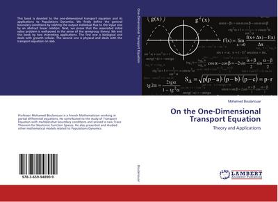 On the One-Dimensional Transport Equation