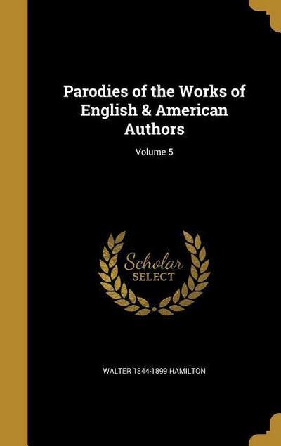 PARODIES OF THE WORKS OF ENGLI