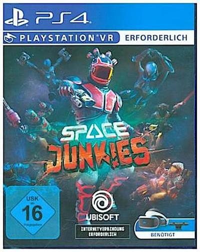 Space Junkies, 1 PS4-Blu-ray-Disc