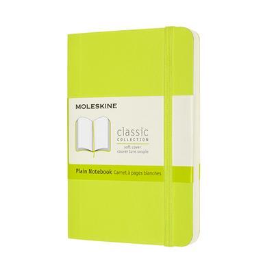 Moleskine Notizbuch Pocket/A6, Blanko, Weicher Einband, Limetten Grün