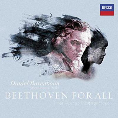 Beethoven For All - Klavierkonzerte Nr.1-5, 3 Audio-CDs