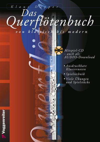Das Querflötenbuch von klassisch bis modern. Mit CD