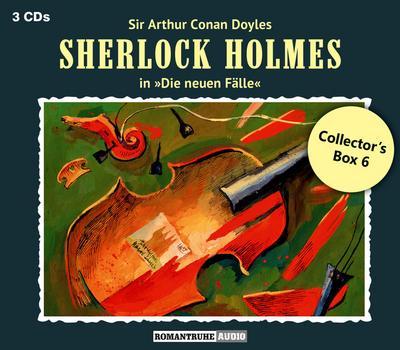 Sherlock Holmes - Die Neuen Fälle: Collector's Box 6 (3CD)