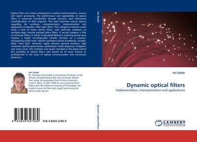 Dynamic optical filters