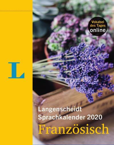 Langenscheidt Sprachkalender 2020 Französisch Abreißkalender