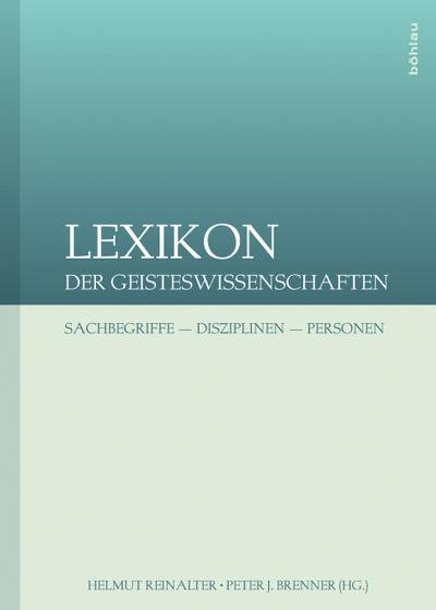 Lexikon der Geisteswissenschaften