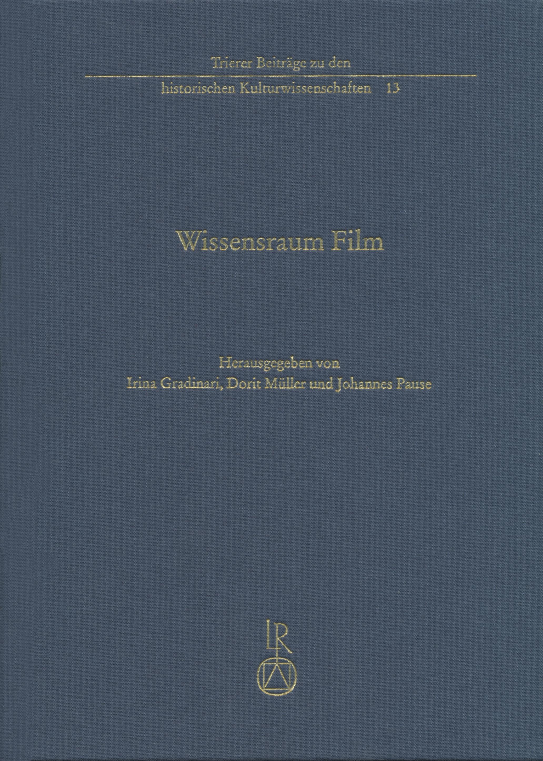 Irina Gradinari / Wissensraum Film 9783954900374