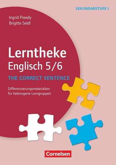 Lerntheke - Englisch: The correct sentence: 5/6