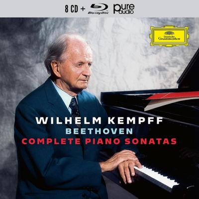 Complete Piano Sonatas, 8 Audio-CDs + 1 Blu-ray Audio