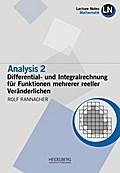 Analysis 2 / Differential- und Integralrechnung für Funktionen mehrerer reeller Veränderlichen