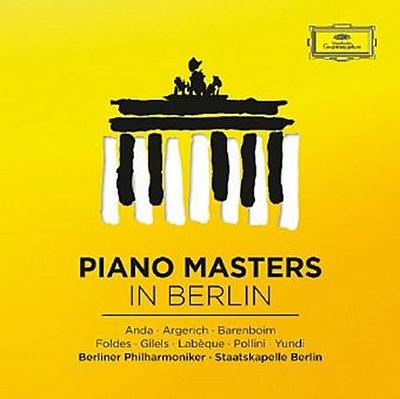 Piano Masters in Berlin, 8 Audio-CDs
