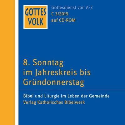 Gottes Volk, Lesejahr C 2019 Gottes Volk LJ C3/2019 CD-ROM, 1 CD-ROM