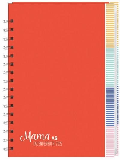 Mama AG Familienplaner Buch A5 2022
