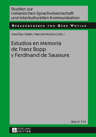 Estudios en Memoria de Franz Bopp y Ferdinand de Saussure