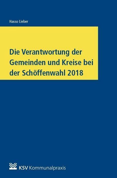 Die Verantwortung der Gemeinden und Kreise bei der Schöffenwahl 2018