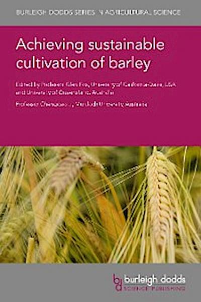 Achieving sustainable cultivation of barley