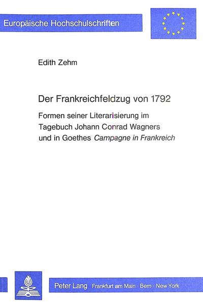 Der Frankreichfeldzug von 1792
