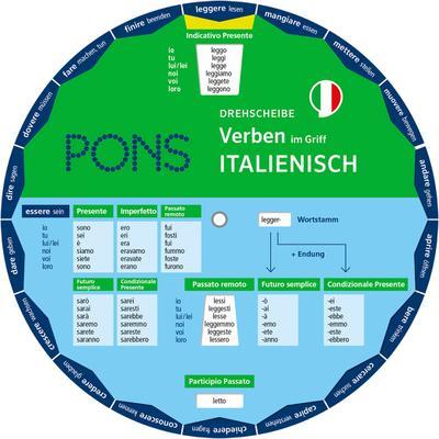 PONS Drehscheibe Verben im Griff Italienisch: Verpackungseinheit 5 Exemplare - PONS - Unbekannter Einband, Deutsch| Italienisch, , ,