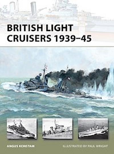 British Light Cruisers 1939 45