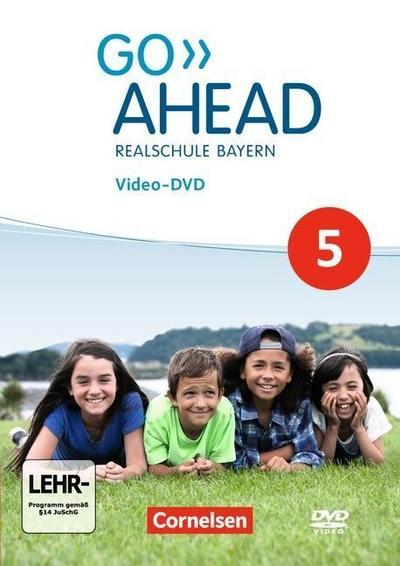 Go Ahead 5. Jahrgangsstufe - Ausgabe für Realschulen in Bayern - Video-DVD