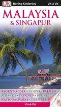 Vis-à-Vis Malaysia & Singapur; Vis à Vis; Deutsch; über 1000 farb. Fotos, Ill., Ktn, Schnittzeichn. u. Grundrisse