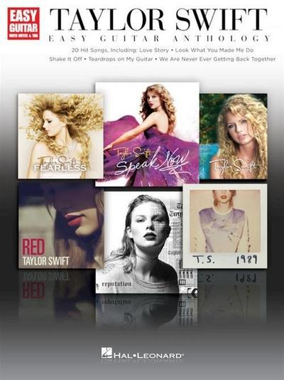 Taylor Swift: Easy Guitar Anthology