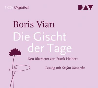 Die Gischt der Tage: Ungekürzte Lesung mit Stefan Konarske (5 CDs)