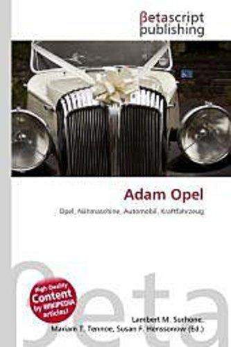 Adam Opel Lambert M. Surhone