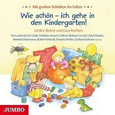Wie Schön-Ich Gehe in Den Kindergarten!