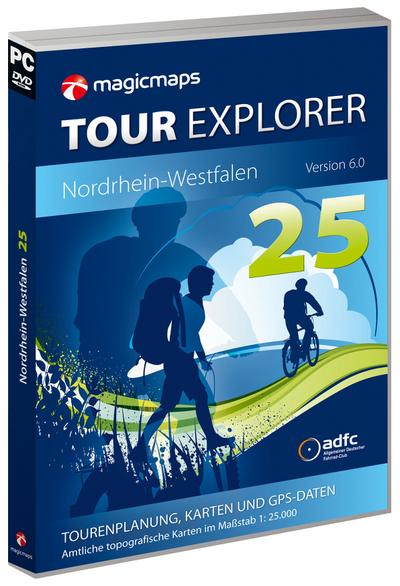 Tour Explorer 25 Nordrhein-Westfalen, Version 6.0