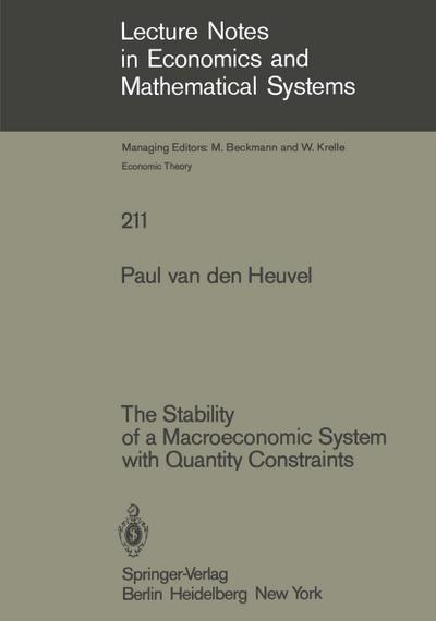 The Stability of a Macroeconomic System with Quantity Constraints