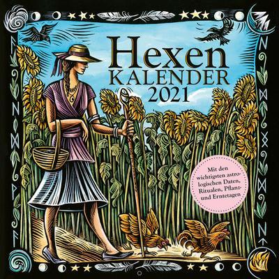 Hexenkalender 2021: Wandkalender
