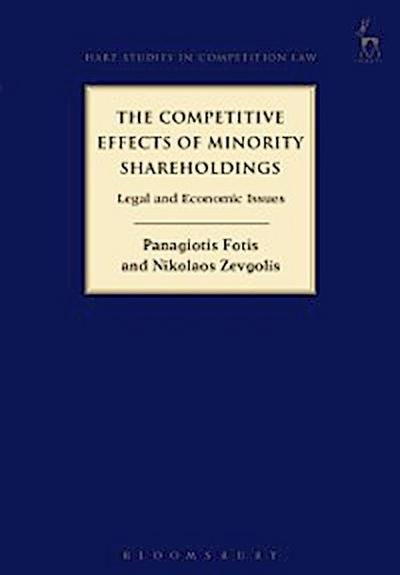 Competitive Effects of Minority Shareholdings