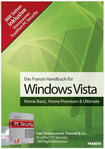 Das Franzis Handbuch für Windows Vista, m. CD-ROM