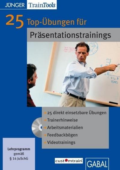 25 Top-Übungen für Präsentationstrainings/ MacOS 10.X.MS-Word ab Word 2000; Win 2003; 2000; 98