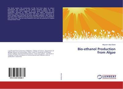 Bio-ethanol Production from Algae