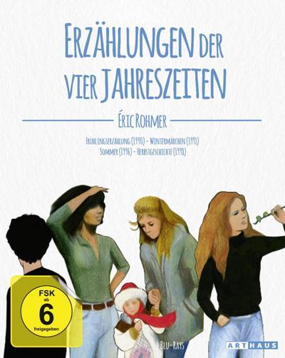Eric Rohmer - Erzählungen der vier Jahreszeiten. Digital Remastered