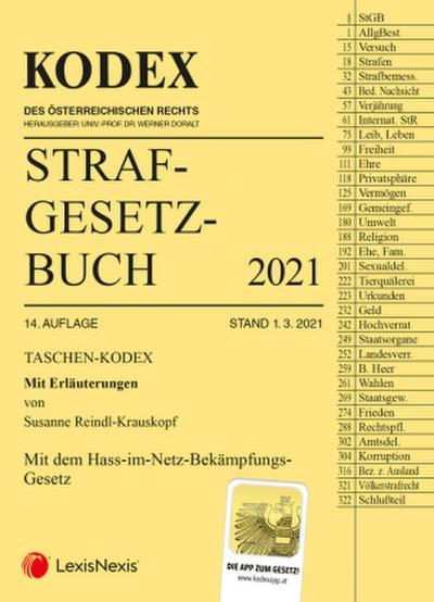 Taschen-Kodex Strafgesetzbuch 2021