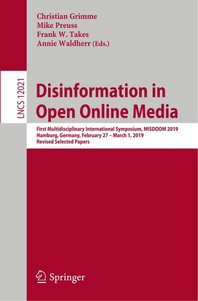 Disinformation in Open Online Media