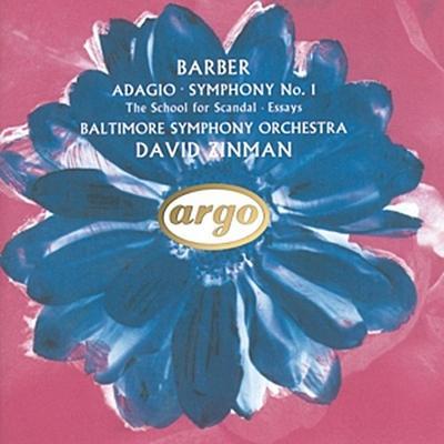Barber: Adagio, Symphony No.1 etc.