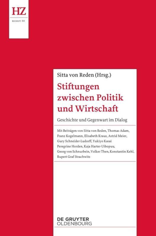 Stiftungen zwischen Politik und Wirtschaft, Sitta von Reden
