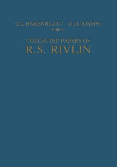 Collected Papers of R.S. Rivlin