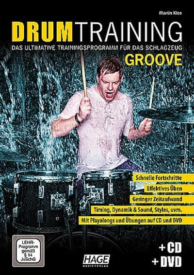 Drum Training Groove (+CD +DVD)für Schlagzeug