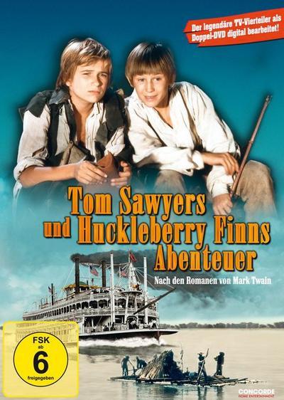Tom Sawyers und Huckleberry Finns Abenteuer - Die legendären TV-Vierteiler