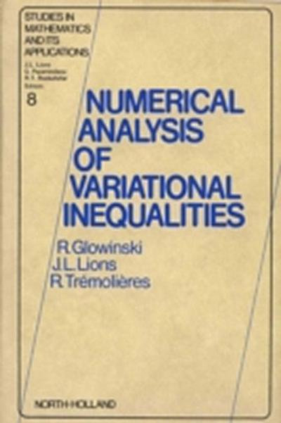 Numerical Analysis of Variational Inequalities