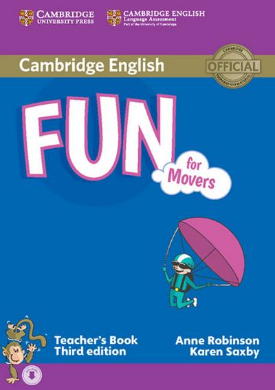 Fun for Movers. Teacher's Book with with downloadable audio