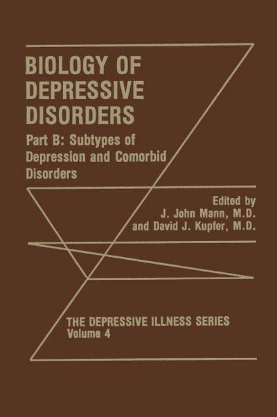 Biology of Depressive Disorders. Part B