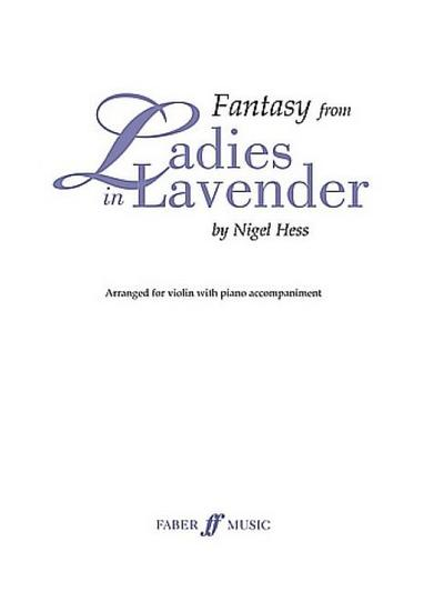 Fantasy from Ladies in Lavender (Violin and Piano)