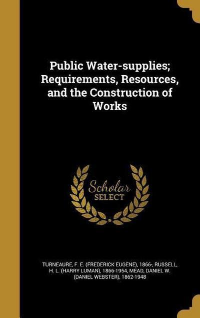 PUBLIC WATER-SUPPLIES REQUIREM