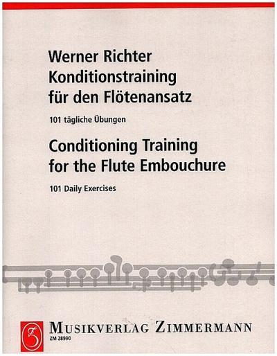 Konditionstraining für den Flötenansatz